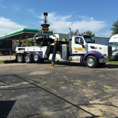heavy duty tow truck with rotator, chicago, il