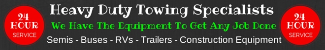 heavy duty towing, chicago metro, semi towing, bus towing, rv towing, oswego,i