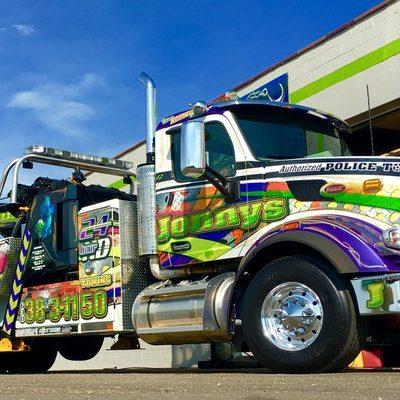 heavy duty towing service, heavy tow truck, 60 ton roatator, jonny's towing & recovery inc. chicago