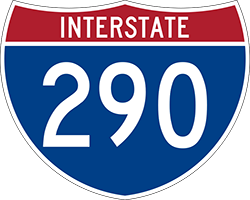 Illustration of Interstate I-290 Sign