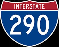 Illustration of Interstate I-290 Sign