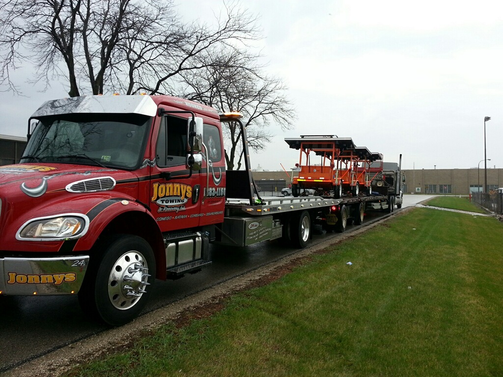 flatbed tow truck near you, sycamore, dekalb, il