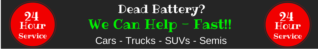 battery jump start, cars, trucks, suvs, semis, heavy duty, oswego, naperville, aurora, jonnys towing & recovery inc